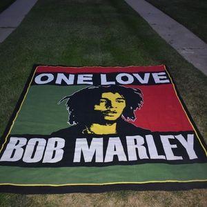 Bob Marley One Love blanket